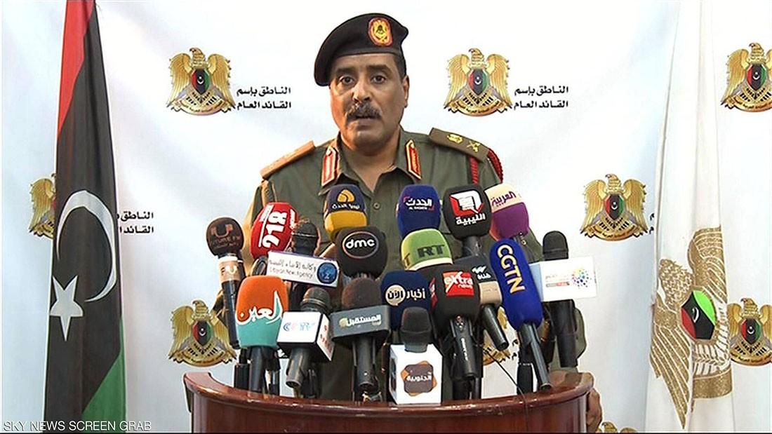المسماري: سندمر أي هدف يهدد الشعب الليبي