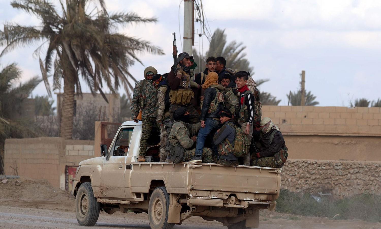 داعش يتوعّد بتكثيف هجماته على التحالف والأكراد بسوريا