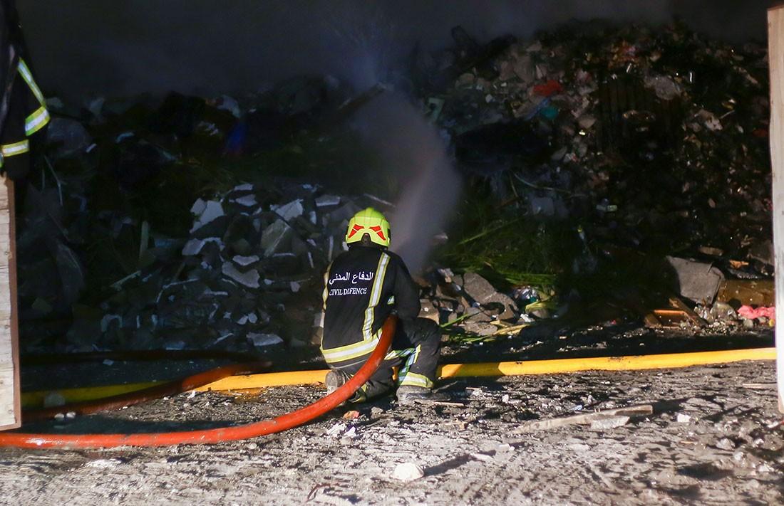 """وفاة امرأة """"35 عام"""" بحريق في منزلها في السهلة الشمالية"""