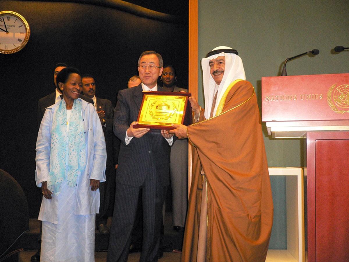 سمو الأمير خليفة في عيون العالم
