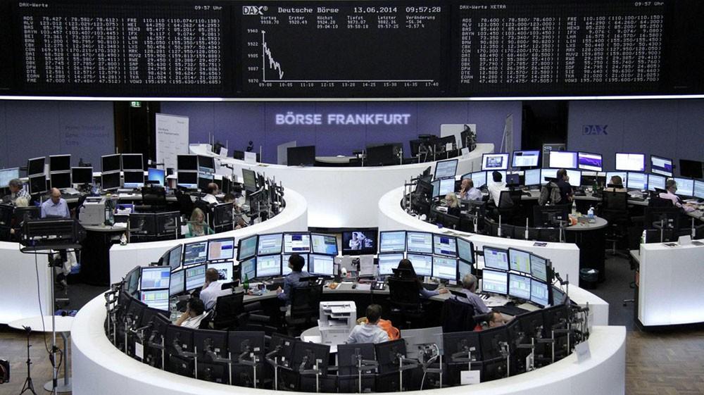 تراجع الأسهم الأوروبية الرئيسة نهاية تداولات اليوم