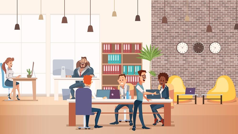 كيف يجد الناس طرقاً للتقدم في عالم العمل الجديد