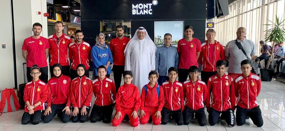 منتخبات الطاولة تغادر إلى الأردن للمشاركة في بطولة غرب آسيا