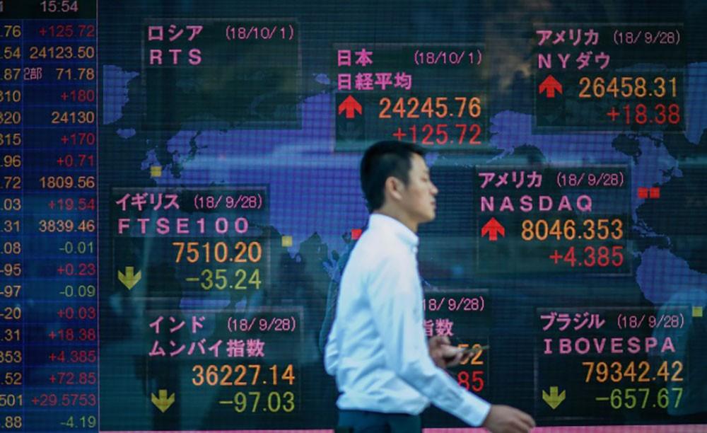 ارتفاع مؤشر نيكي 1.05 % في تعاملات بورصة طوكيو