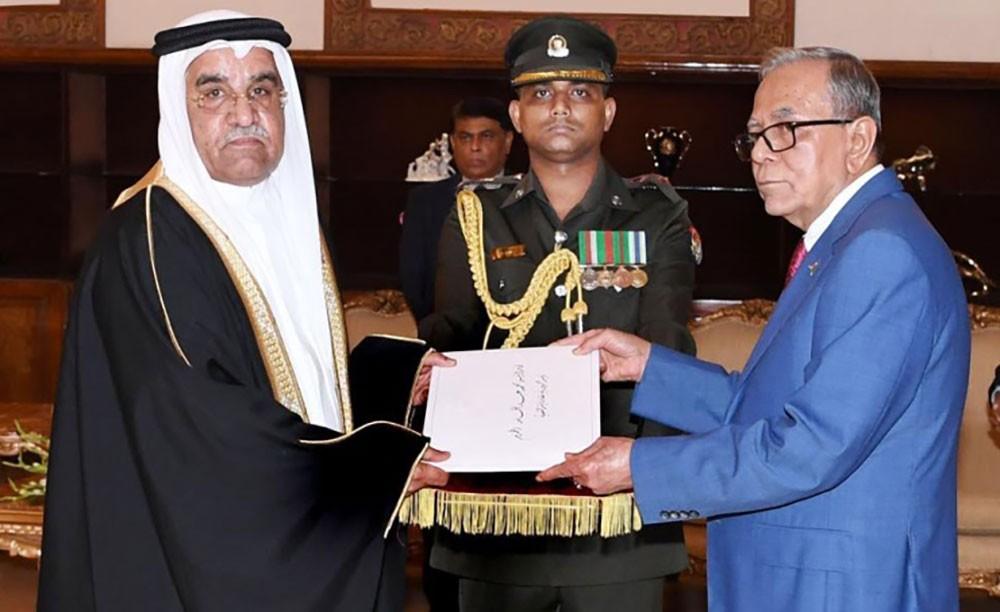 رئيس بنغلاديش يتسلم اوراق اعتماد سفير المملكة