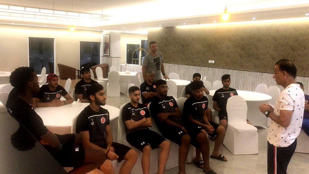 معسكر داخلي يجهز منتخب الشباب للبطولة الخليجية