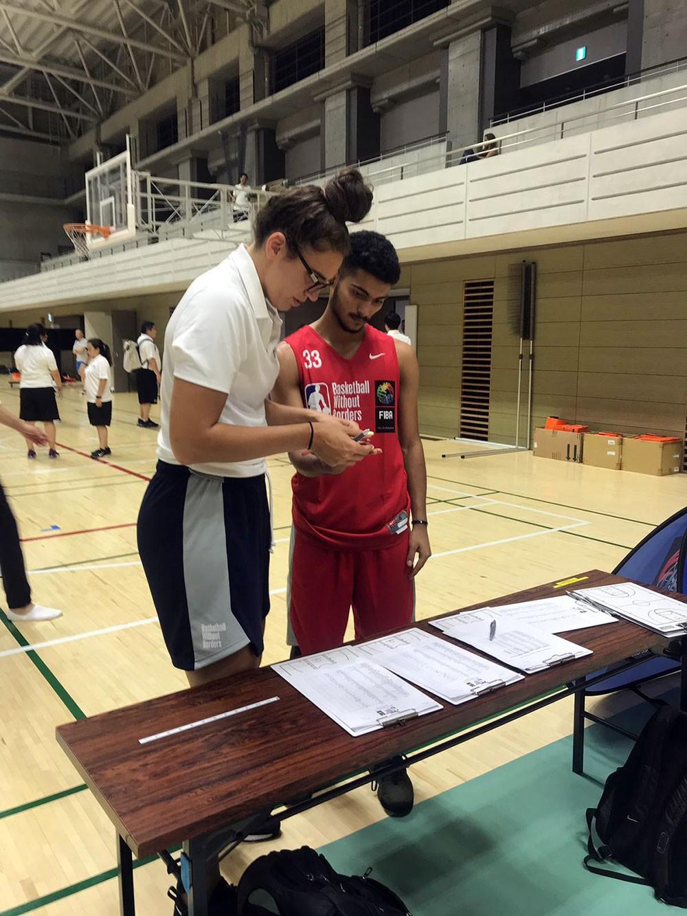 مصطفى حسين يدشن مشاركته في أفضل لاعبي آسيا باليابان