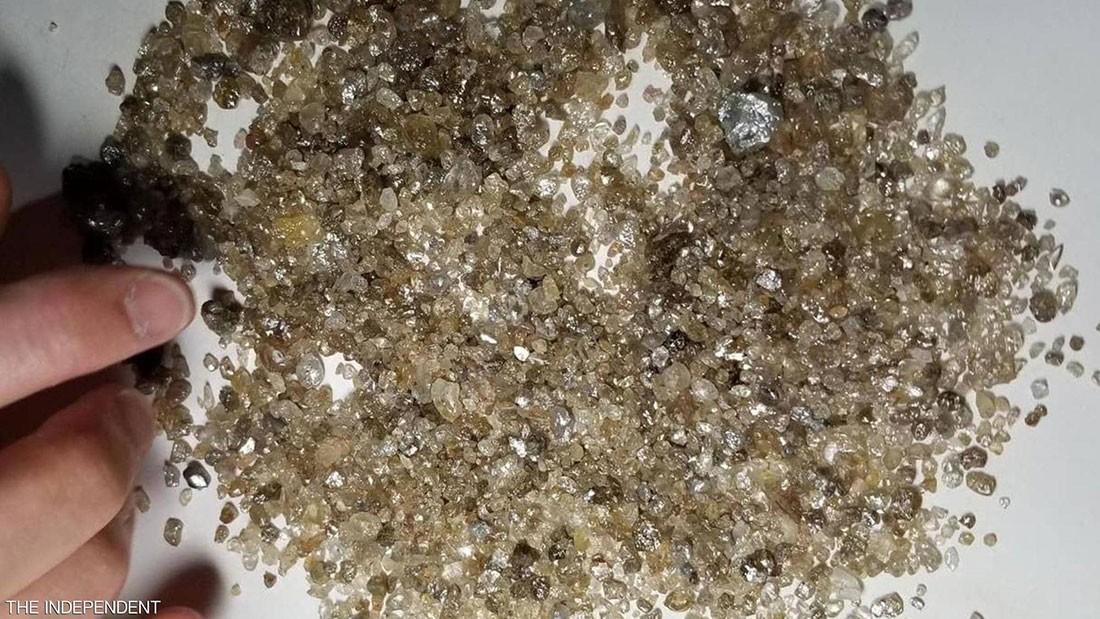 اكتشاف ألماس من قلب الأرض.. عمره 4.5 مليار سنة