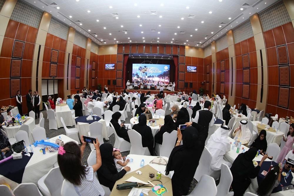 """نادي ضباط الأمن العام يقيم فعالية """"العيد"""" بمشاركة أبناء شهداء الواجب وأبناء الاعضاء"""