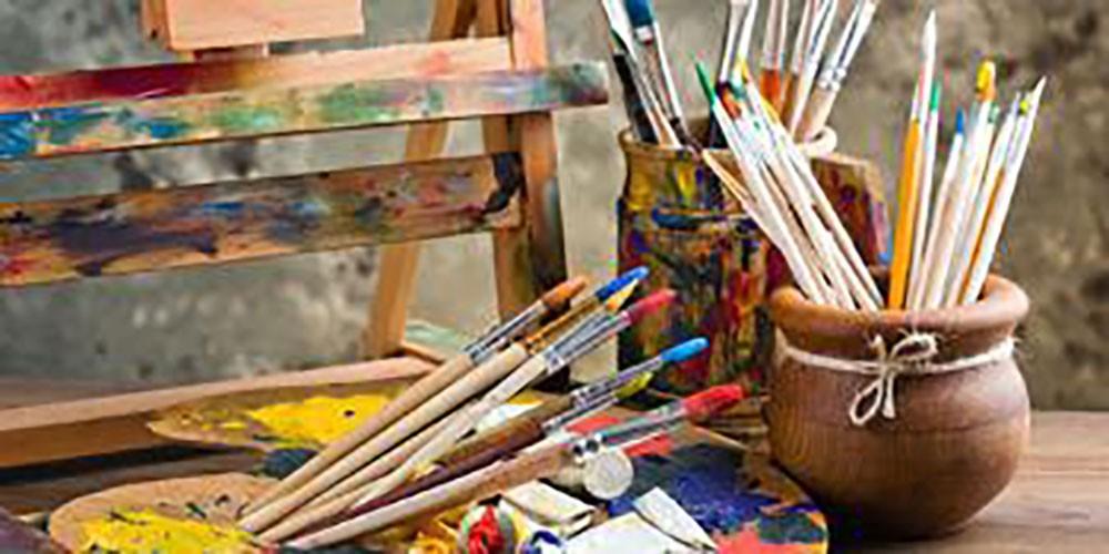 ورشة تقنيات الرسم بالأكريلك السبت في مركز الفنون