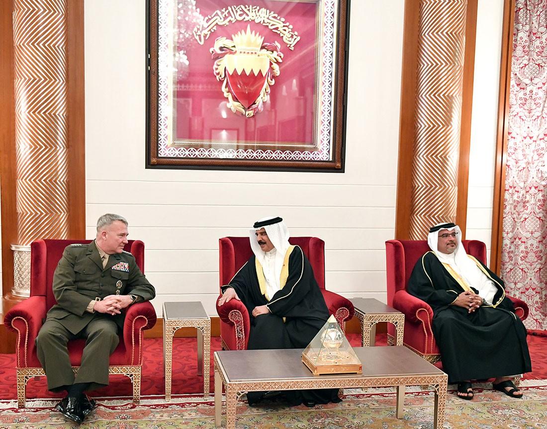 العاهل: البحرين تقدر موقف واشنطن إزاء أمن واستقرار المنطقة وردع التهديدات
