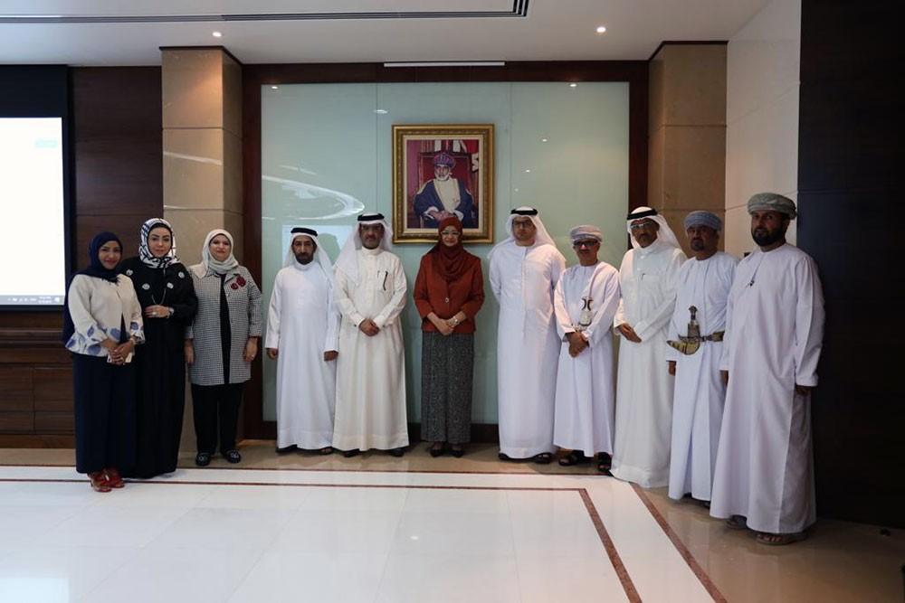 رؤساء لجان معادلة الشهادات الخليجيين يناقشون ضوابط نظام التعليم عن بعد