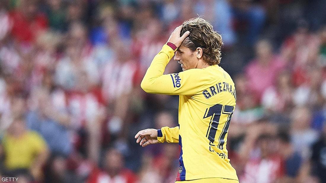 """جماهير أتلتيكو مدريد """"تهين"""" غريزمان في غيابه"""