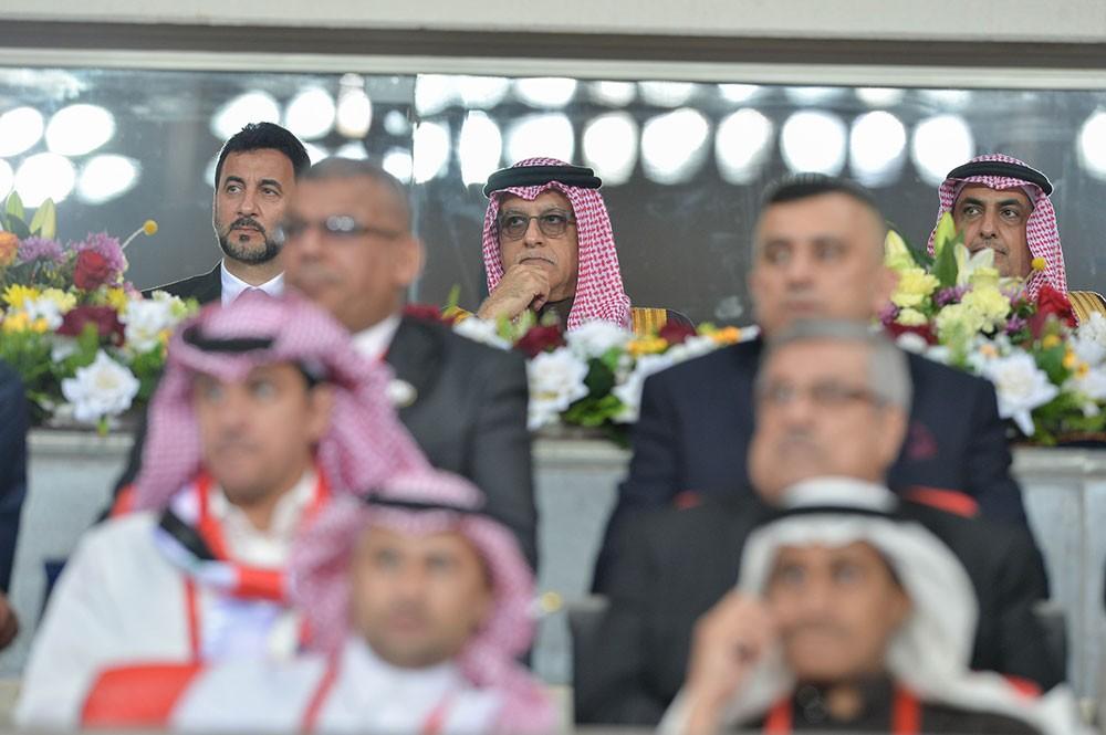 سلمان بن ابراهيم:  الإتحاد الآسيوي كان سبّاقاُ في مساندة العراق باستضافة المباريات الدولية