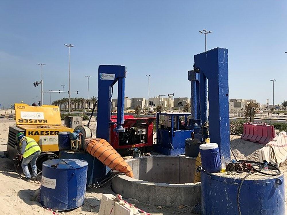 الأشغال: إنجاز 53% من مشروع ربط شبكة الصرف الصحي بمدينة سلمان