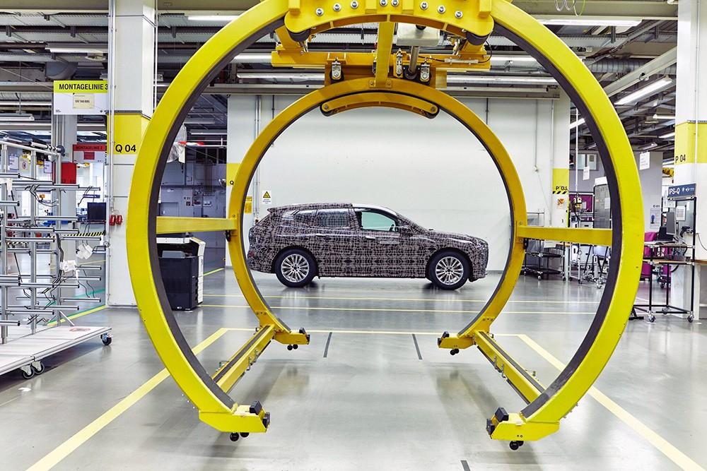 المصنع التجريبي الخاص لتصنيع النموذج الأولي لطراز BMW iNEXT