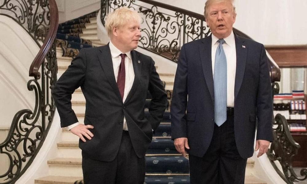 """بعد تعليق أعمال البرلمان.. ترامب يشيد بجونسون """"العظيم"""""""