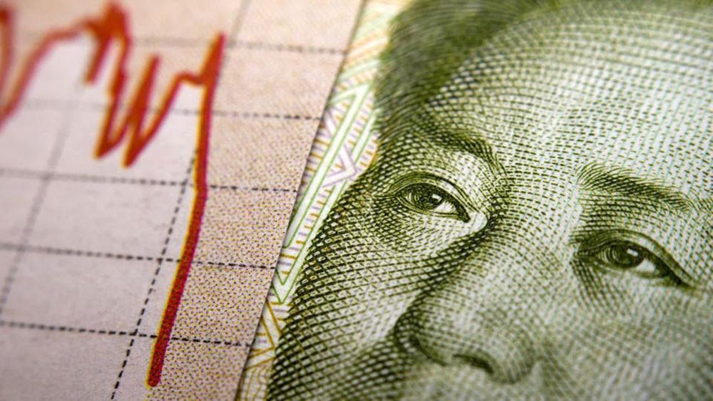 اليوان الصيني بصدد تسجيل أسوأ أداء شهري منذ 1994
