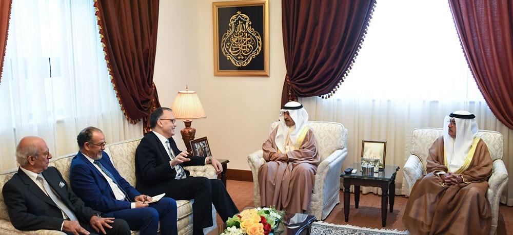 سمو رئيس الوزراء: العلاقات البحرينية المغربية تتسم ببعدها التاريخي ووشائجها الوطيدة