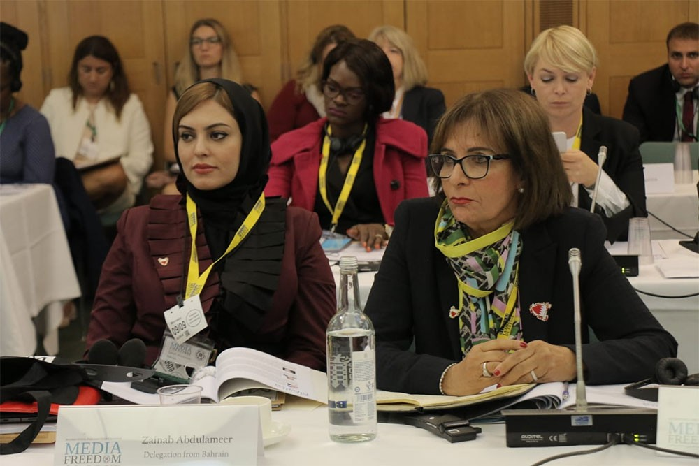 وفد الشعبة : العمل الصحفي في البحرين يشهد طفرة بفضل المشروع الإصلاحي