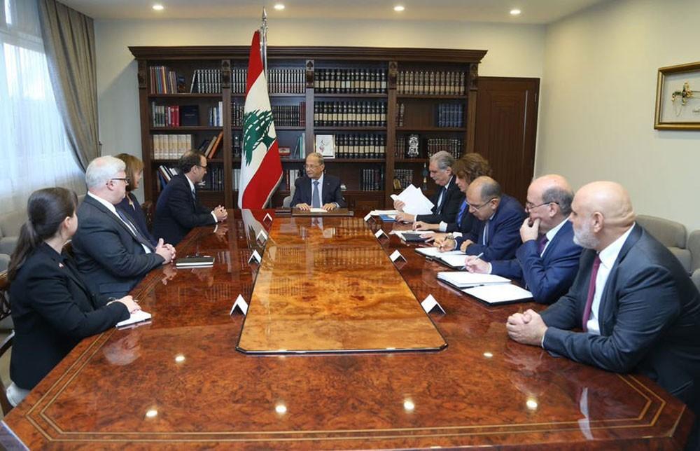 """لبنان يطلب وساطة أميركا مجدداً في """"ترسيم الحدود"""""""