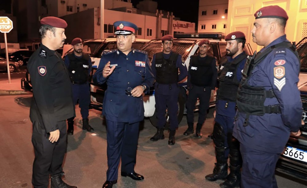 رئيس الأمن العام يتفقد الاستعدادات الأمنية خلال مناسبة عاشوراء