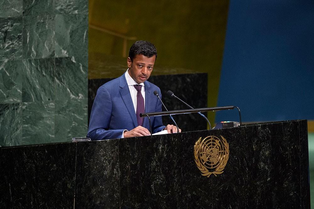 مندوب البحرين لدى الأمم المتحدة يشارك في احتفال مناهضة التجارب النووية