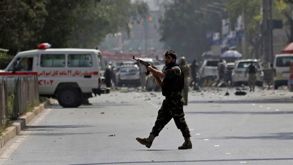 دوي انفجار قرب السفارة الأميركية في العاصمة الأفغانية كابل