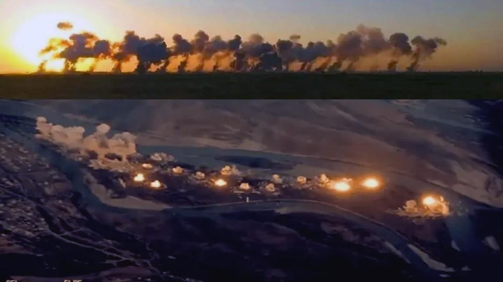 """السماء تمطر 36 طناً من القنابل على """"دواعش"""" العراق"""