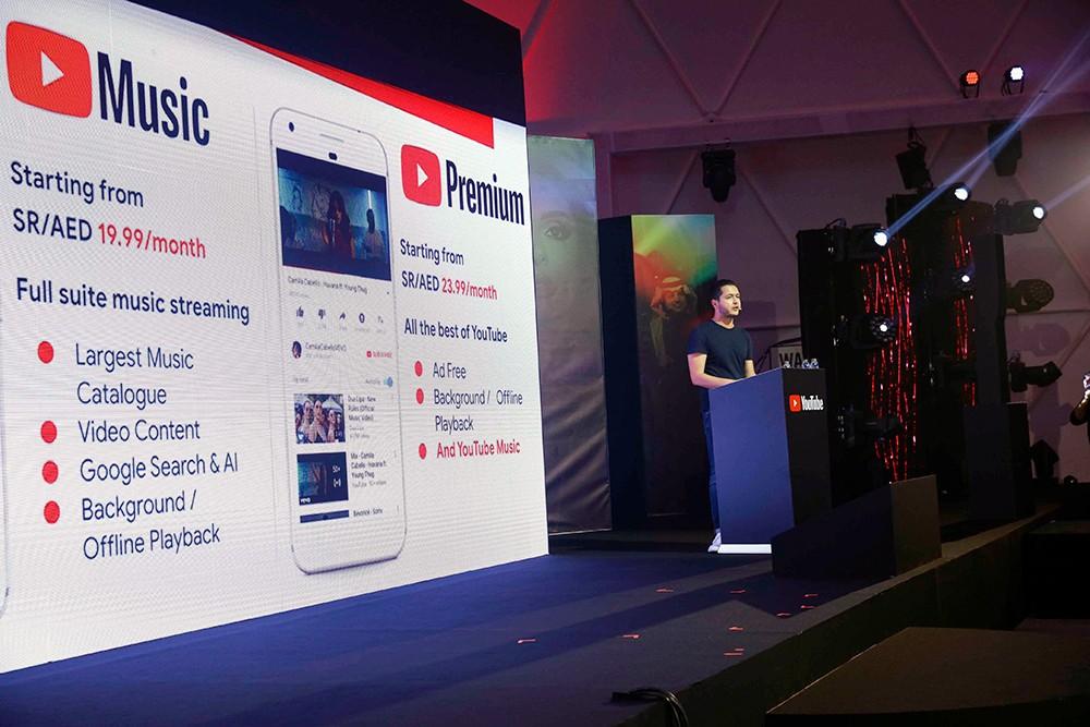 اطلاق YouTube Music وYouTube Premium في الشرق الأوسط