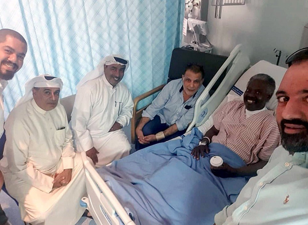 وعكة صحية أدخلت الفنان عبدالله وليد المستشفى