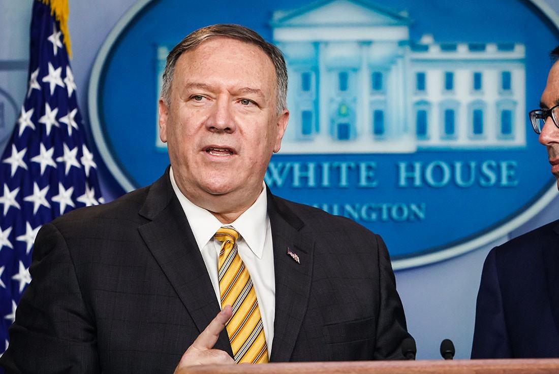 """بومبيو يتهم إيران بالتورط بتنفيذ """"هجمات أرامكو"""""""