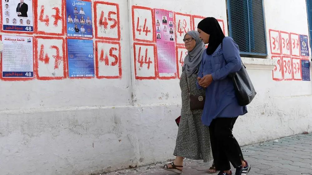 تونس.. فتح مراكز الاقتراع لاختيار رئيس جديد