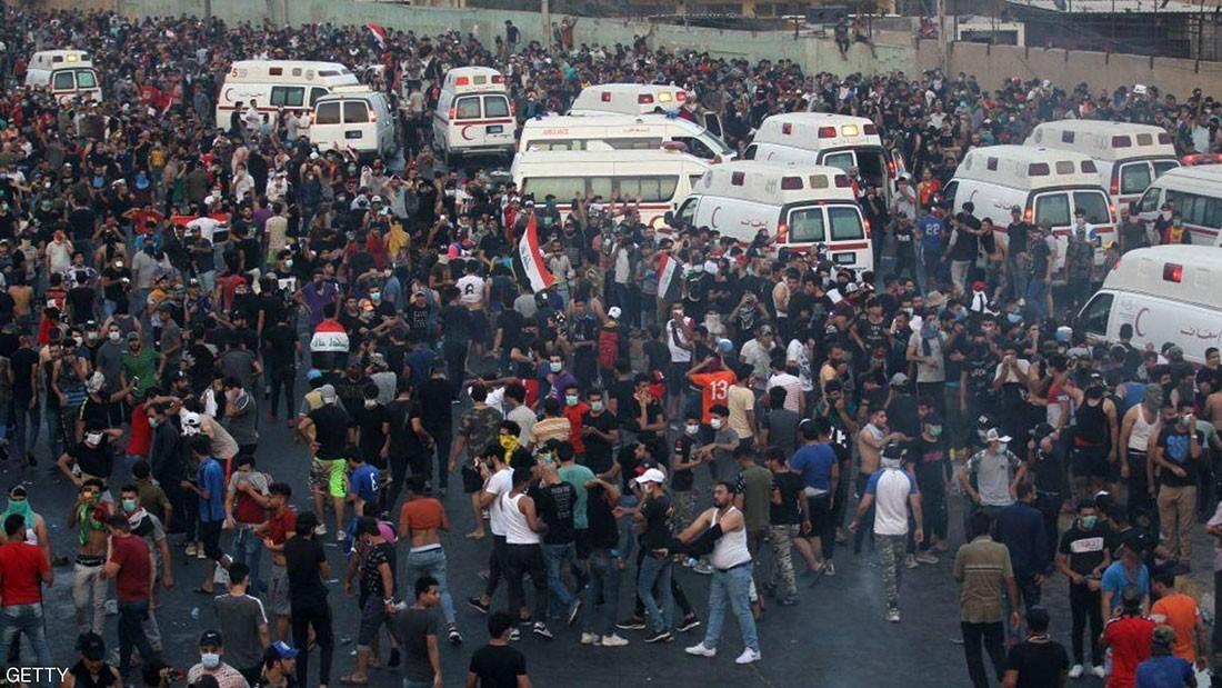 ارتفاع قتلى احتجاجات العراق.. والمتظاهرون يعودون لوسط بغداد