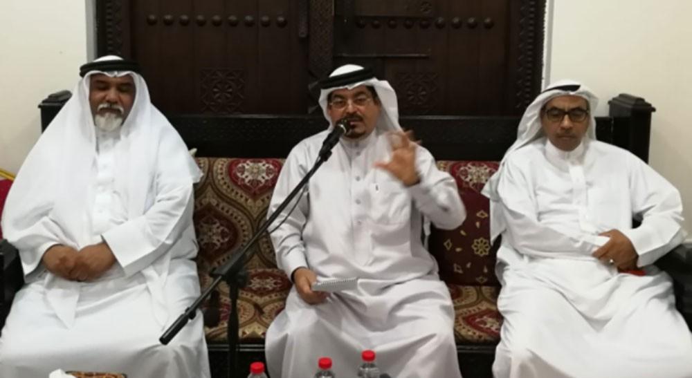 مجلس سامي الشاعر ينظم محاضره عن  فنون التوفير والاستثمار