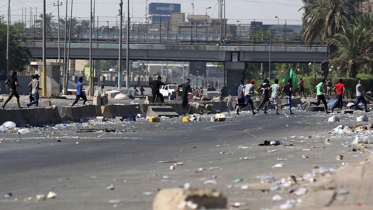 قناصة في بغداد.. وأنباء عن إطلاق نار على متظاهرين