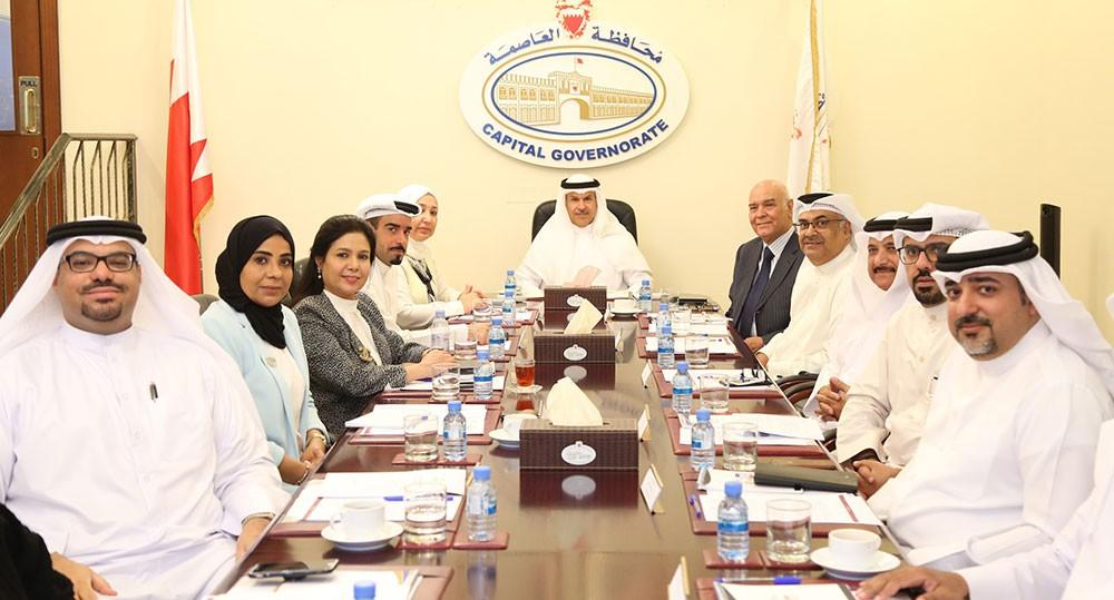 محافظ العاصمة يستعرض معايير استحقاق المنامة لقب (المدينة الصحية)
