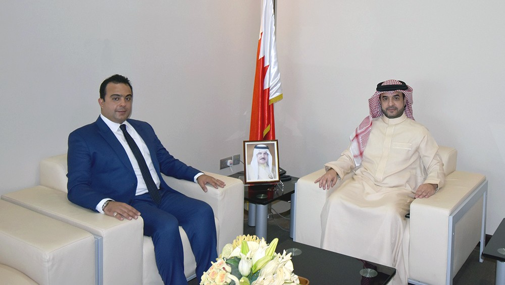 """""""الوطنية لحقوق الإنسان"""" تستقبل عضو مجلس الشورى علي العرادي"""