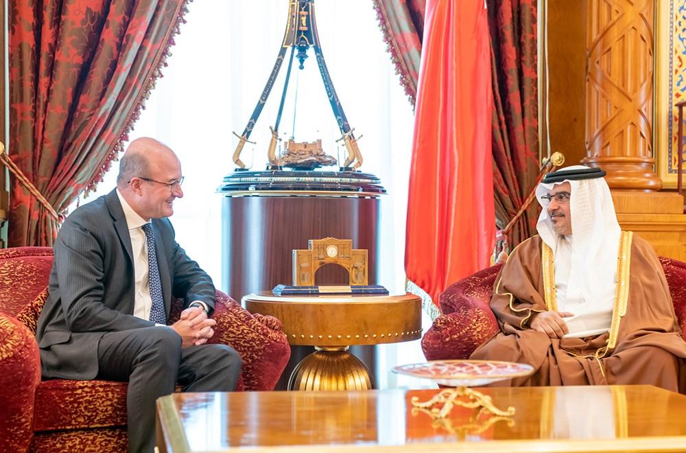 سمو ولي العهد: مواصلة تعزيز تنافسية البحرين في القطاع المالي والمصرفي لتحقيق مزيد من المنجزات الاقتصادية