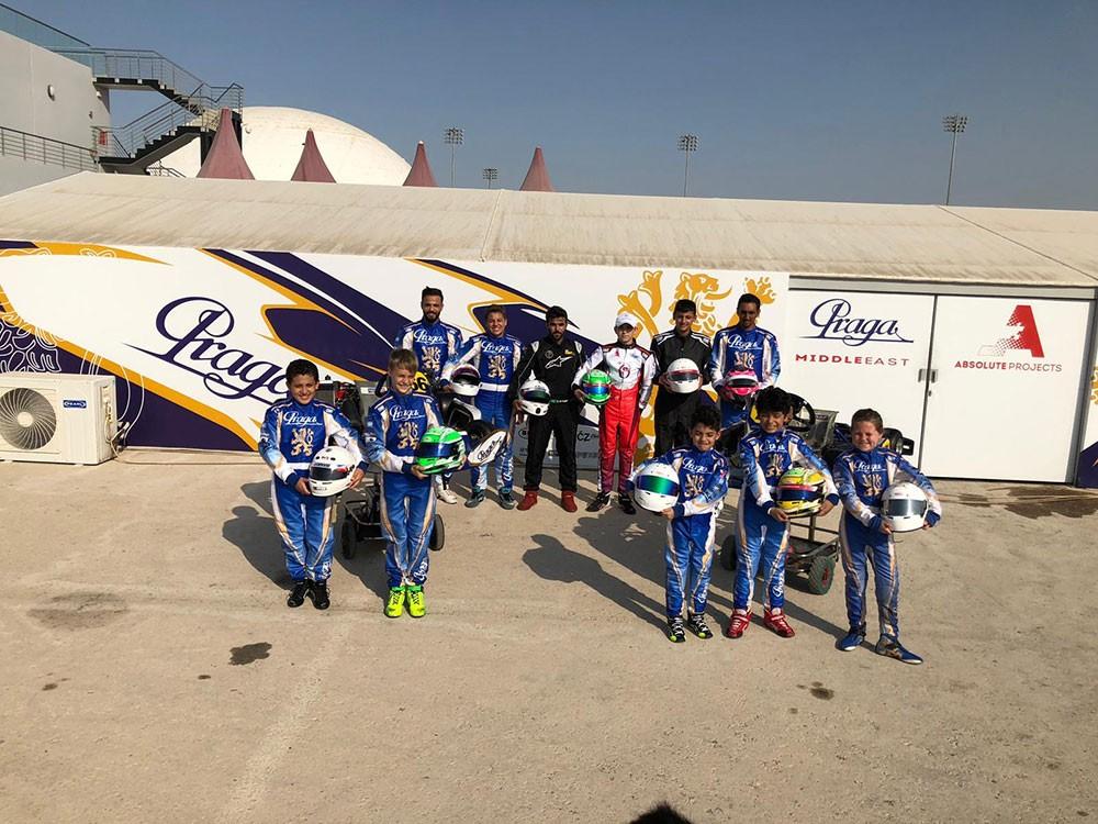 """فريق """"براغا الشرق الأوسط"""" يرفع وتيرة تحضيراته لإستحقاقات منافسات الكارتنغ"""