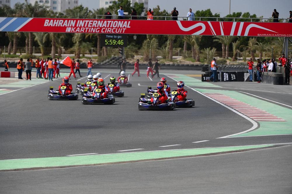 14 فريقا من البحرين والسعودية يتنافسون في افتتاحية بطولة التحمل للكارتنج السبت