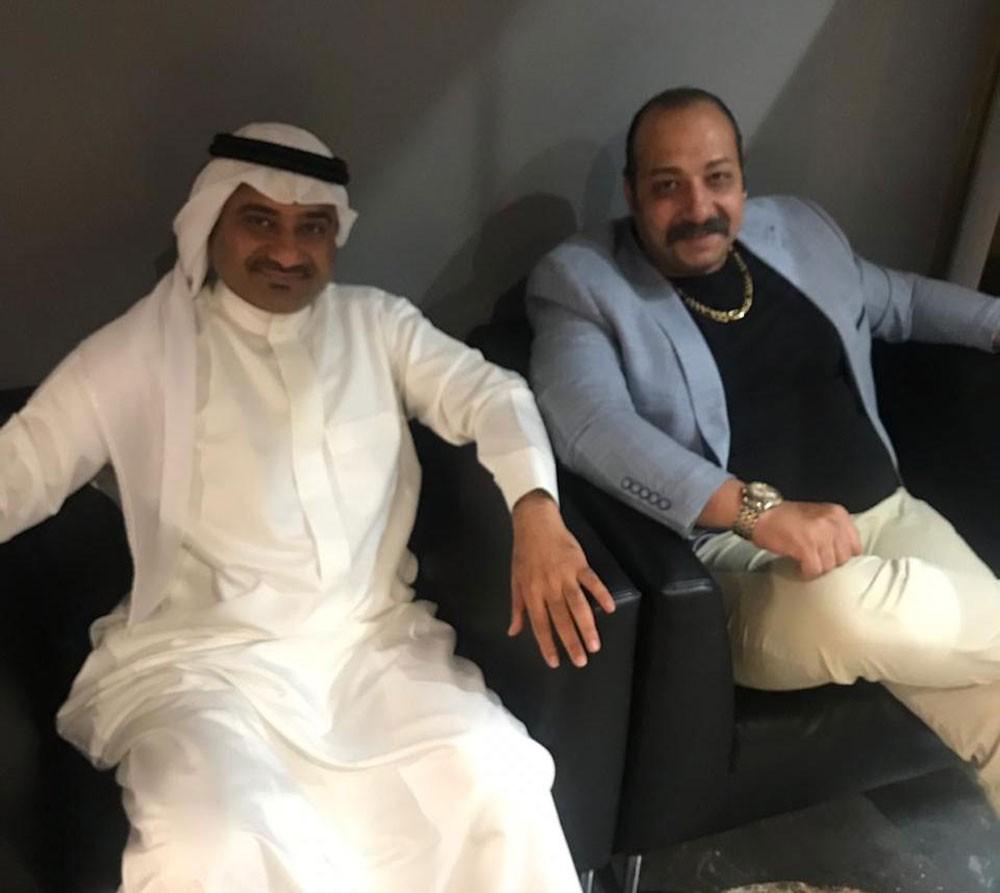 """السعودي عبد الحميد العوام يودع اسرة فيلم """"ريما"""""""