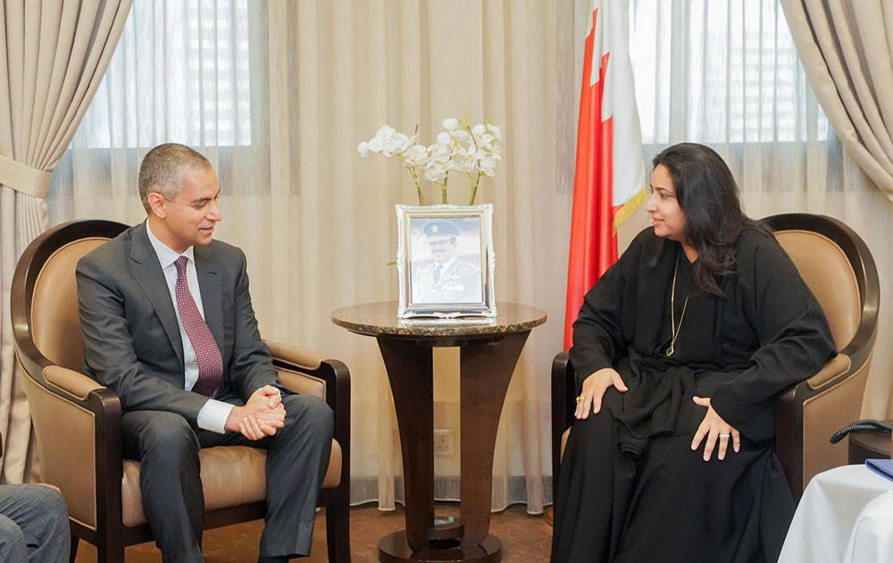 وكيل وزارة الخارجية تجتمع بالرئيس التنفيذي  لمجلس التنمية الاقتصادية