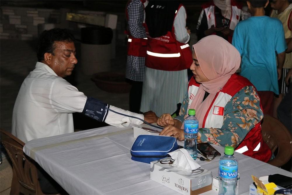 الهلال الأحمر يقيم فعالية للتوعية بخطورة السمنة على صحة الإنسان