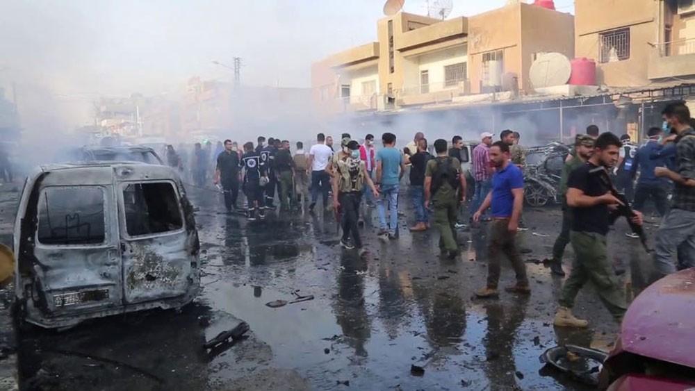 قسد: مقتل 4 في انفجار سيارة ملغمة بمدينة القامشلي