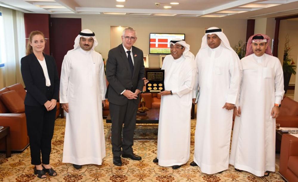 الغرفة تبحث آليات تطوير العلاقات الاقتصادية بين البحرين والدنمارك
