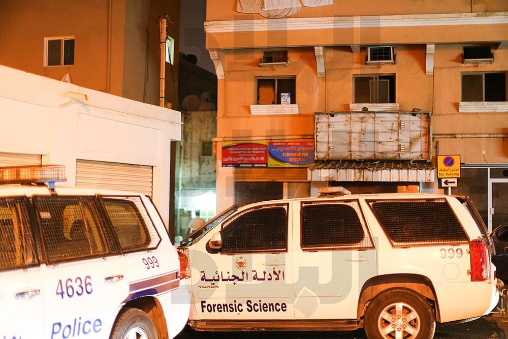 بالصور: إنفجار ارتدادي في مبنى سكني بالمحرق.. و إصابة طفلين