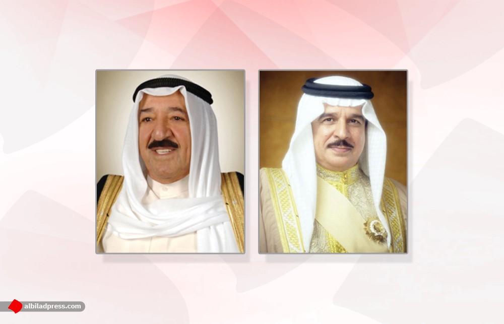 جلالة الملك المفدى يجري اتصالا هاتفيا بسمو أمير دولة الكويت