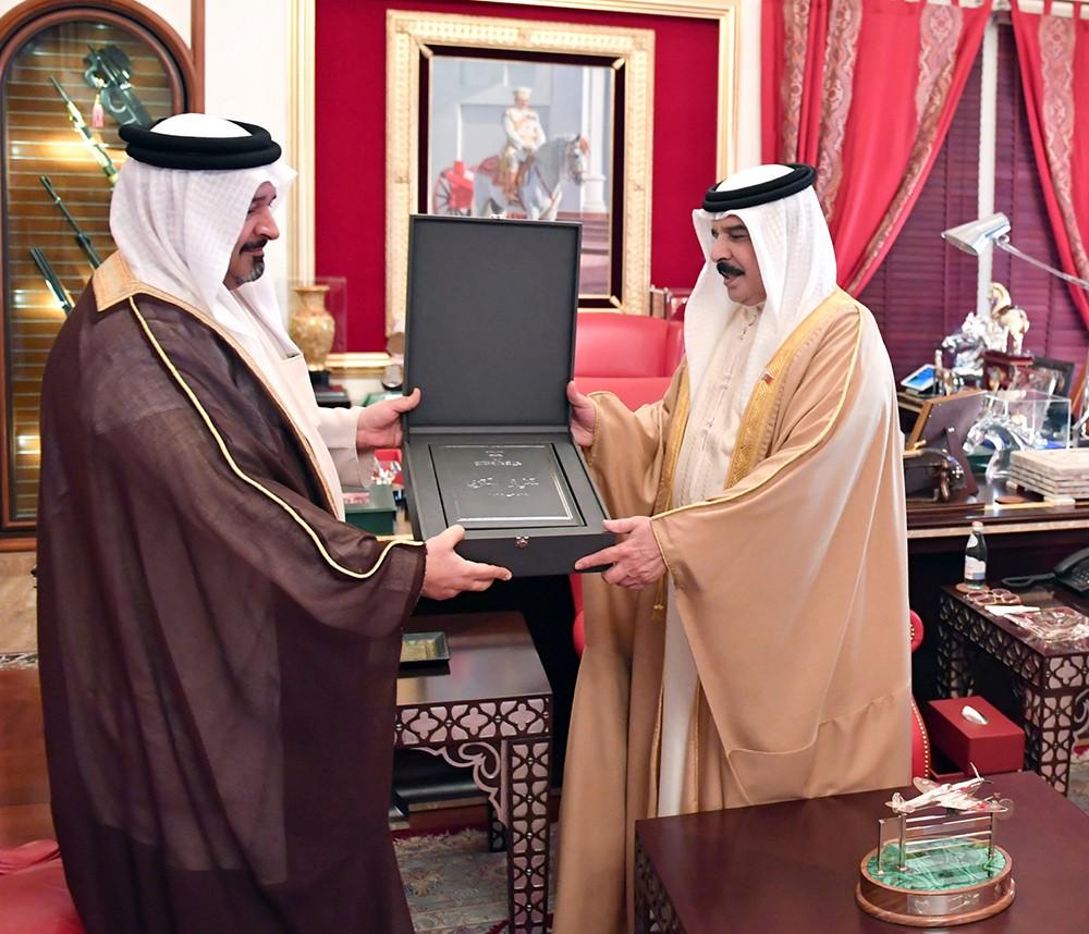 جلالة الملك المفدى يستقبل رئيس ديوان الرقابة المالية والإدارية