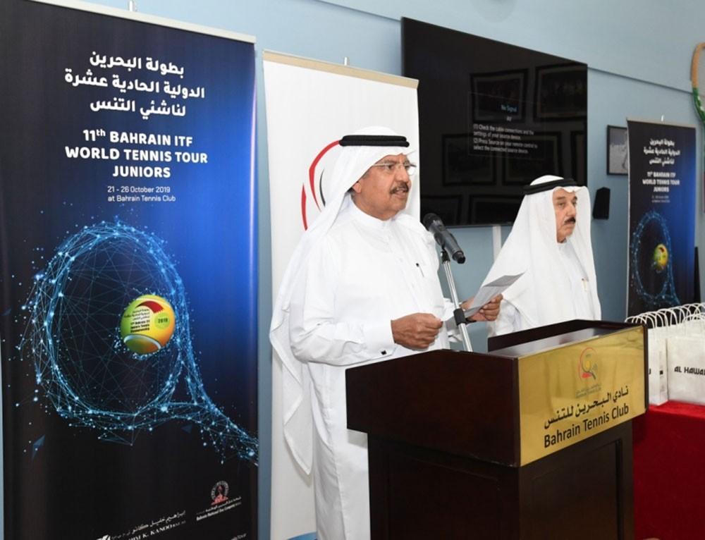 نادي البحرين للتنس يحتفي بنجوم بطولة البحرين الدولية ITF